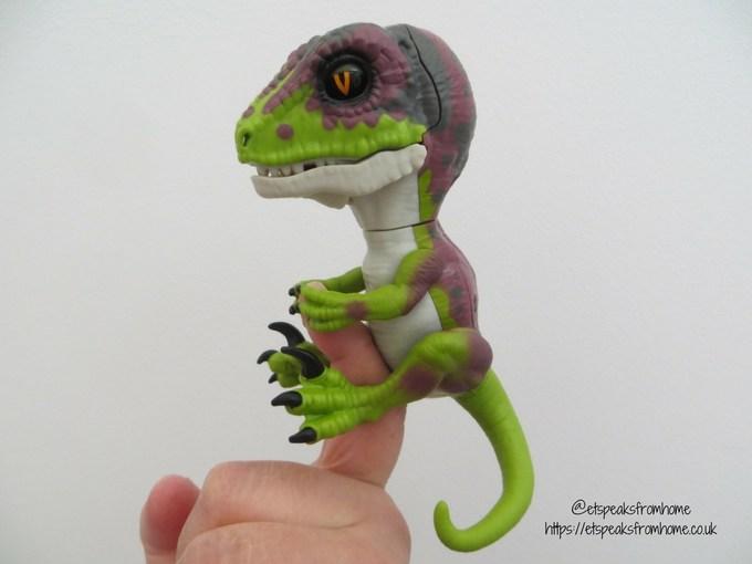 Woo Wee Untamed Raptors Review baby dino