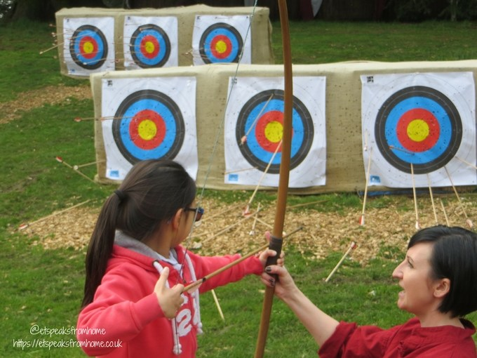 warwick castle 950 anniversary 2018 archery
