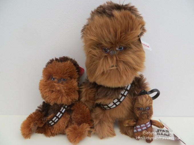 Posh Paws star wars plush collection Chewbacca