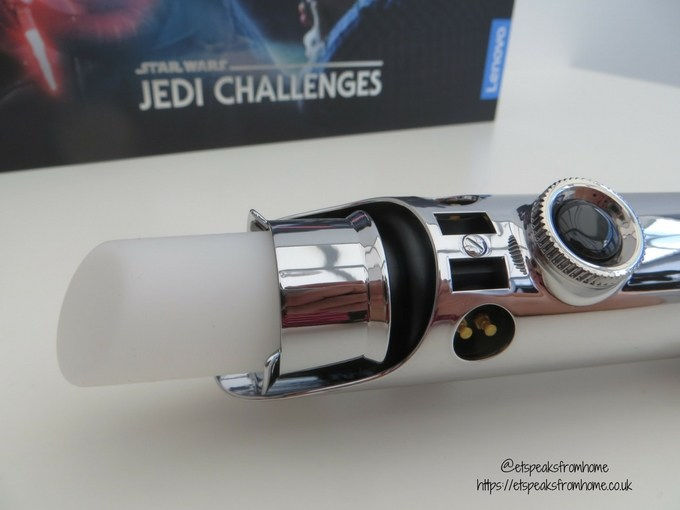 Star Wars Jedi Challenges AR lightsaber tip