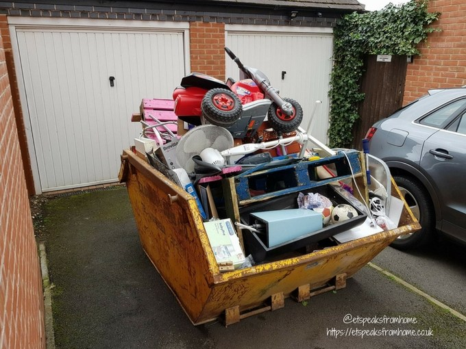 Where to storage your house items for house sale skip