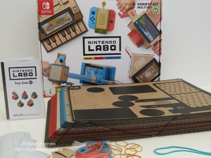 nintendo labo toy-con variety kit inside