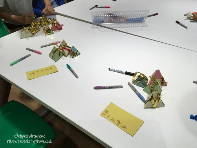 Dumpling Craft kids decorating
