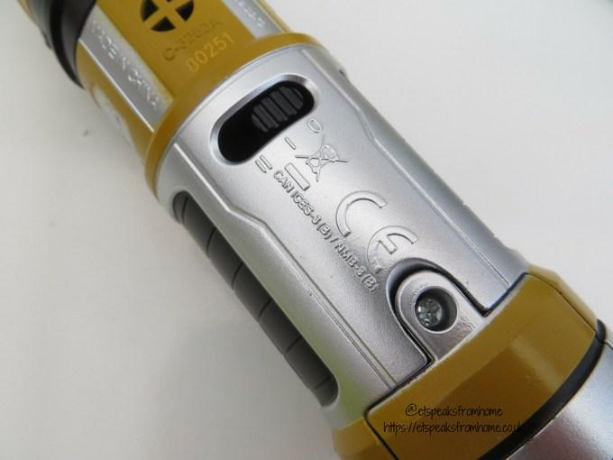 Star Wars BladeBuilders Force Master Lightsaber batteries