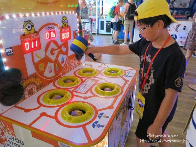 Celebrating 10th Anniversary of Thomas Land arcade