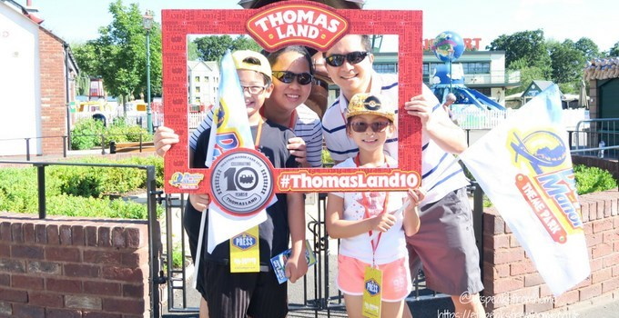 Celebrating 10th Anniversary of Thomas Land