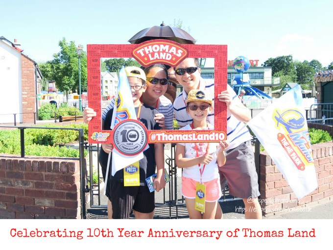 Celebrating 10th Anniversary of Thomas Land