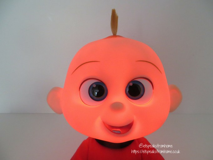 Incredibles 2 Toy from JAKKS Pacific jack-jack attack face