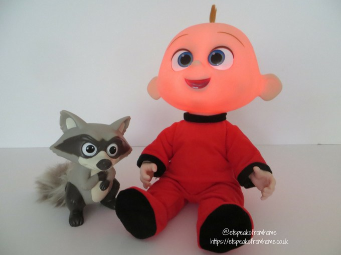 Incredibles 2 Toy from JAKKS Pacific jack-jack attack with raccoon