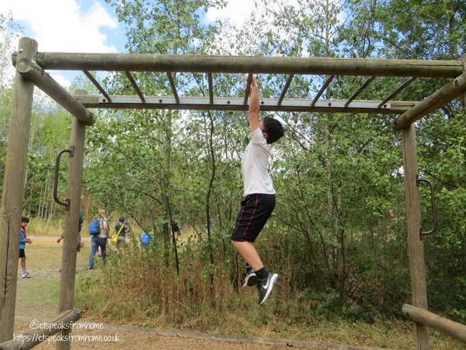 Our Visit to Conkers monkey bars