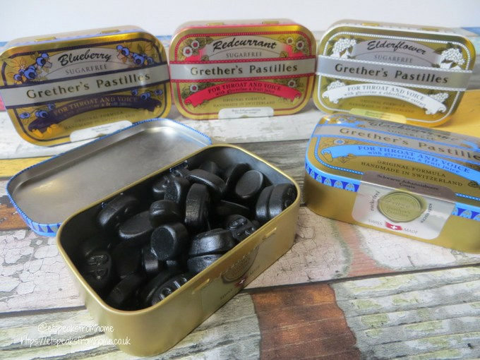 Grether's Pastilles Review in tin