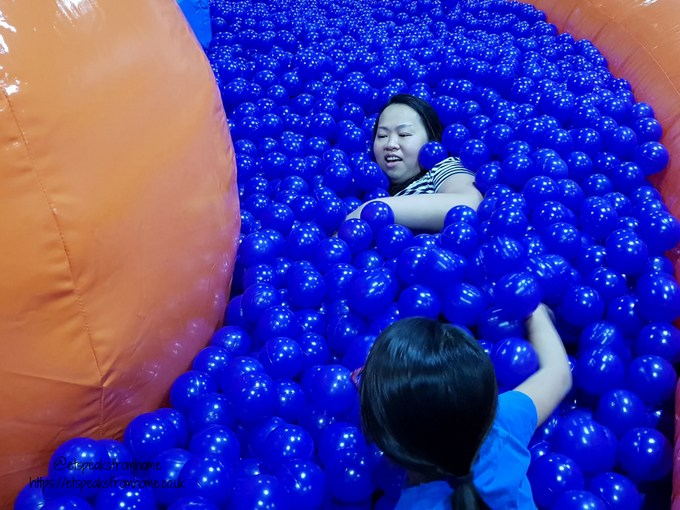 Inflata Nation Birmingham ball pits