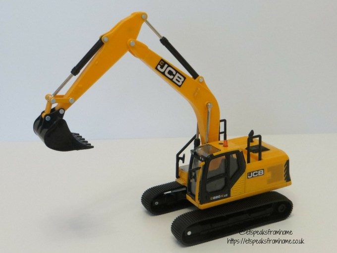 JCB X Series arm up