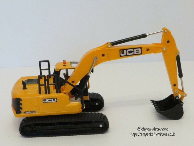 JCB X Series side
