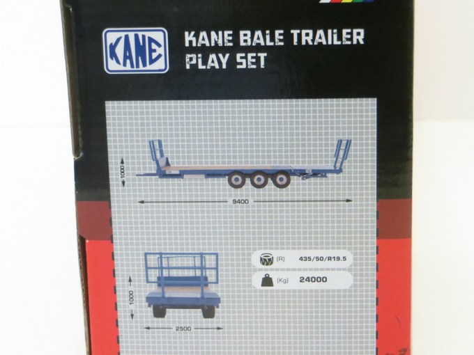 Kane Bale Trailer measurement