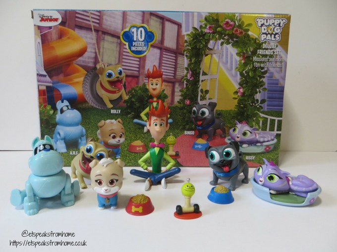 Puppy Dog Pals deluxe figures set