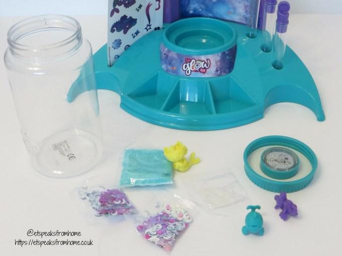 So Glow DIY Magic Jar Studio large jar contents