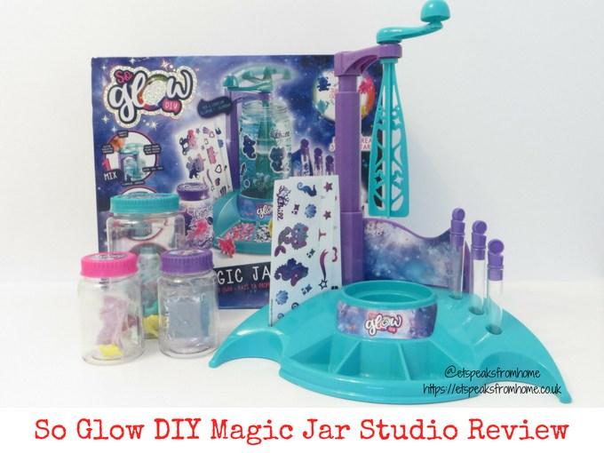 So Glow DIY Magic Jar Studio review