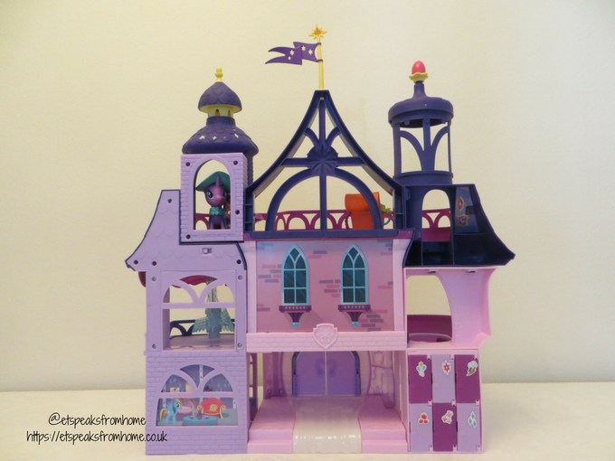 mlp Magical School of Friendship playset back