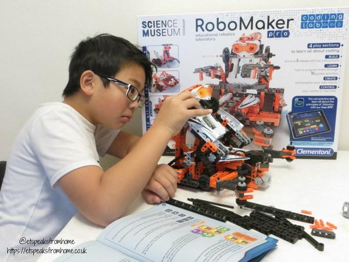 Clementoni RoboMaker Pro X5 Droid build