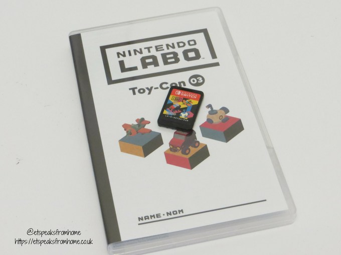 Nintendo Labo Toy-Con Vehicle Kit software