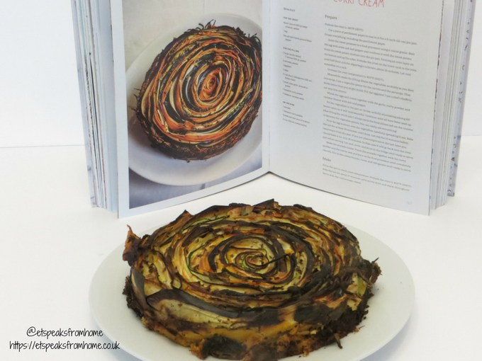 Vegetable Spiral Tart with Avocado-Curry Cream home sweet christmas