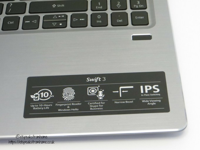 acer swift 3 15.6 16gb optane 1tb laptop fingerprint