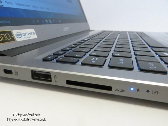 acer swift 3 15.6 16gb optane 1tb laptop sd card