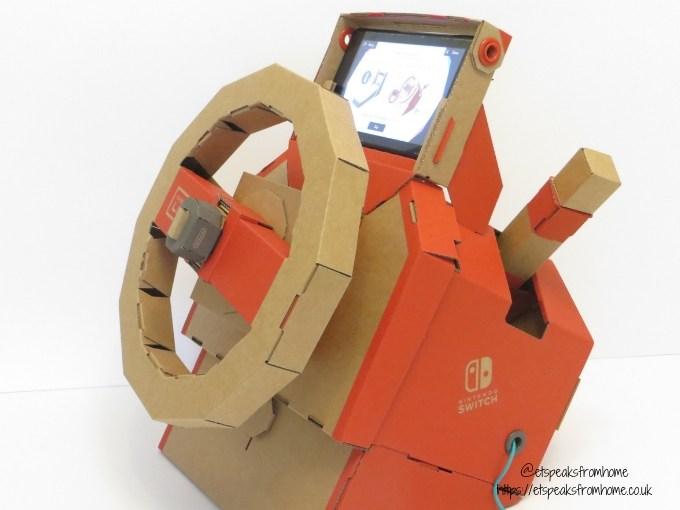 nintendo labo toy-con vehicle kit car with screen