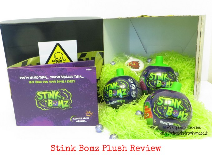 Stink Bomz Plush review