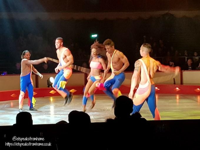 The Gandeys Circus Greatest Showmen Tour african warriors