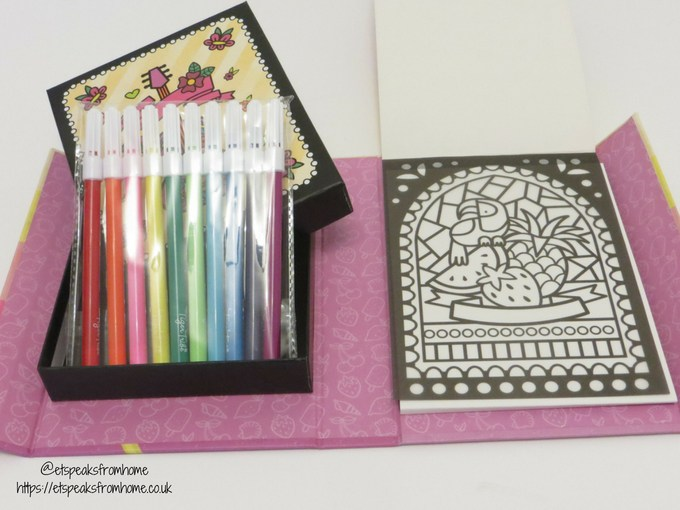 Tiger Tribe Crafts staining glass set with pens