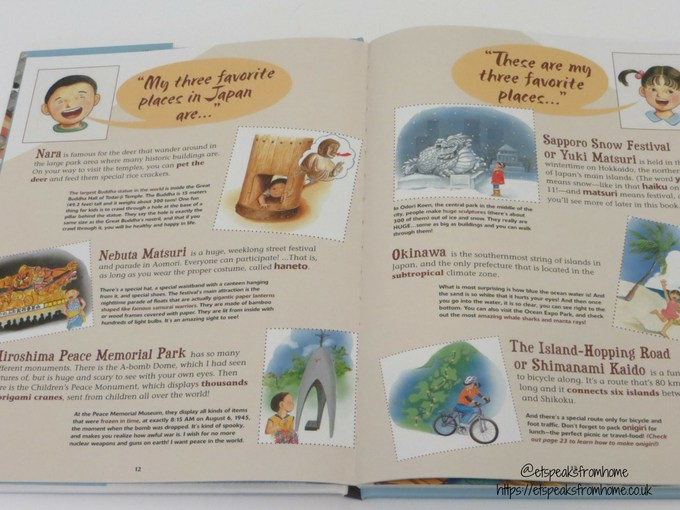 all about japan book story