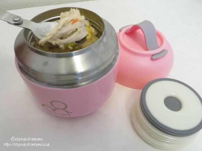 hydratem8 food pot with food