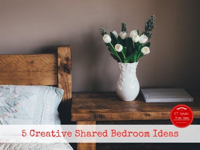 5 Creative Shared Bedroom Ideas