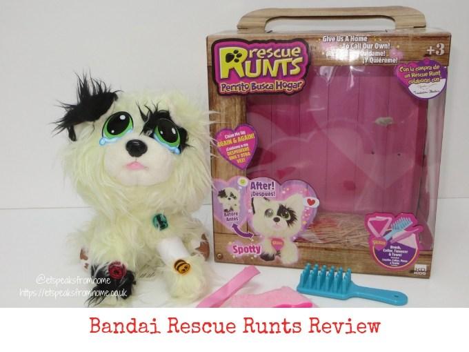 Bandai Rescue Runts Review