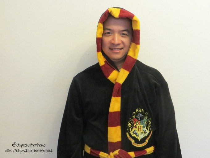 Harry Potter Pyjama hooded dressing gown with hood