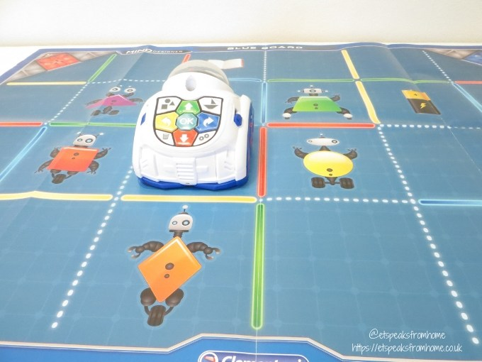 MIND Designer Robot edu mode blue board