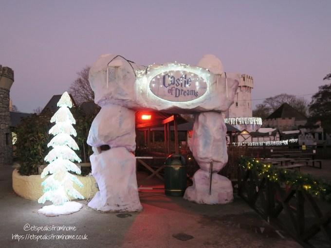Magical Christmas at Drayton Manor 2018 castle