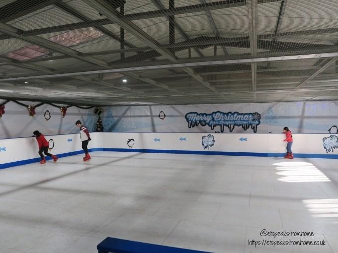 Magical Christmas at Drayton Manor 2018 ice rink