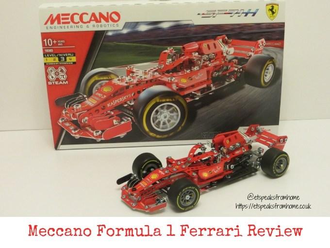 Meccano Formula 1 Ferrari Review