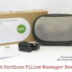 Mynt Cordless Pillow Massager Review