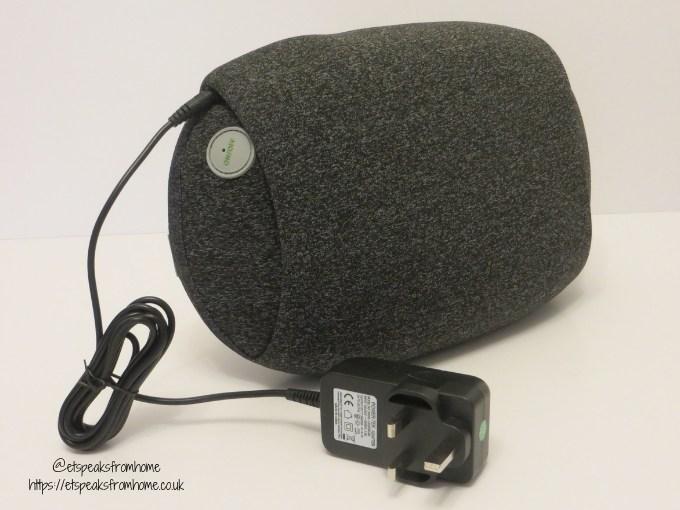 Mynt Cordless Pillow Massager power adaptor