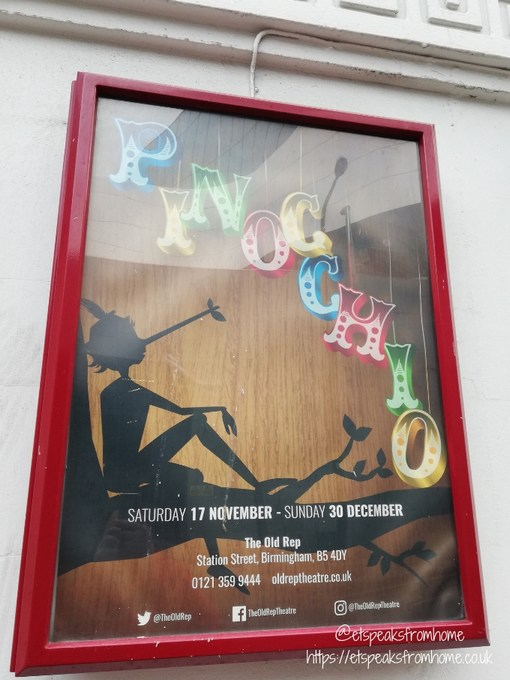 Pinocchio at The Old Rep