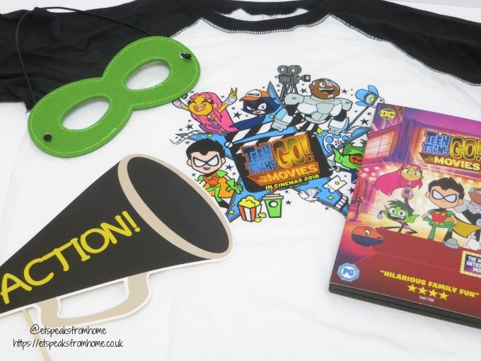 Teen Titans GO! To The Movies goodies