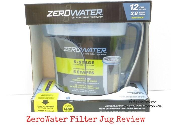 ZeroWater Filter Jug Review