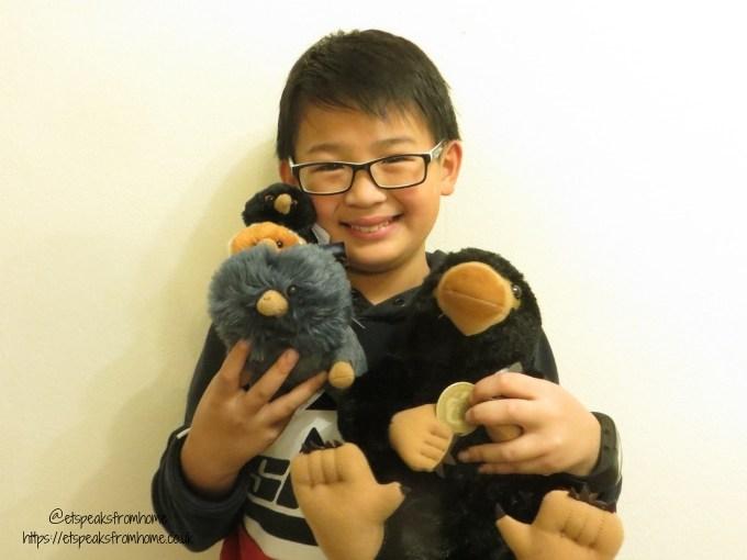 nifflers and niffler babies plush toy