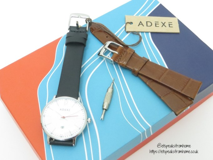 2019 Challenge with ADEXE Watch London leather strap