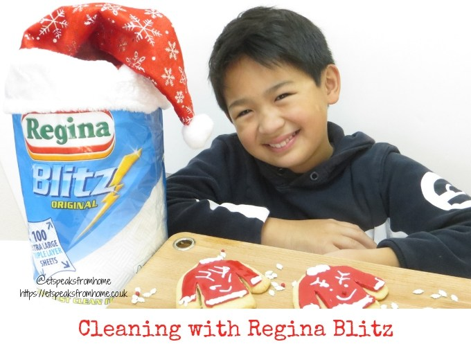 Cleaning with Regina Blitz this Christmas