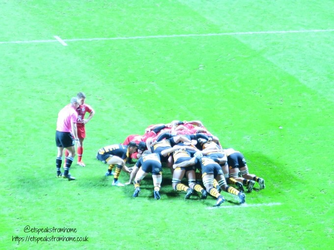Heineken Champions Cup Wasps Vs Toulouse game